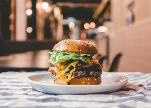 Petey Sweetie burger
